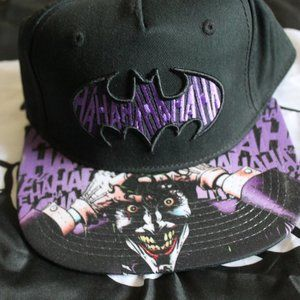 Batman + The Joker Snapback Hat